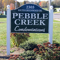 Pebble-Creek-Sign