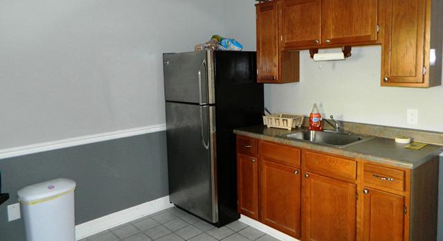 Employee kitchen