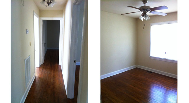 Hallway and Master Bedroom