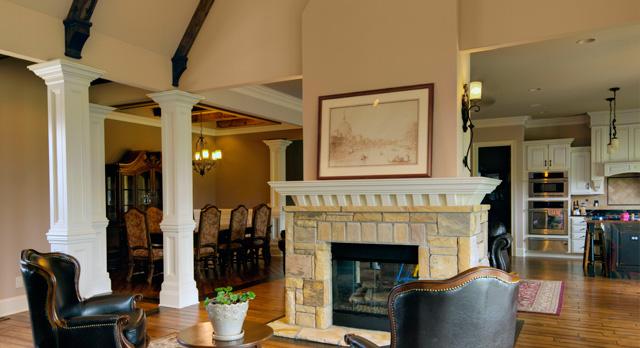 Ridges House Livingroom