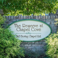 Chapel Cove Community Sign