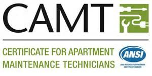 Certified Apartment Maintenance Technician Logo