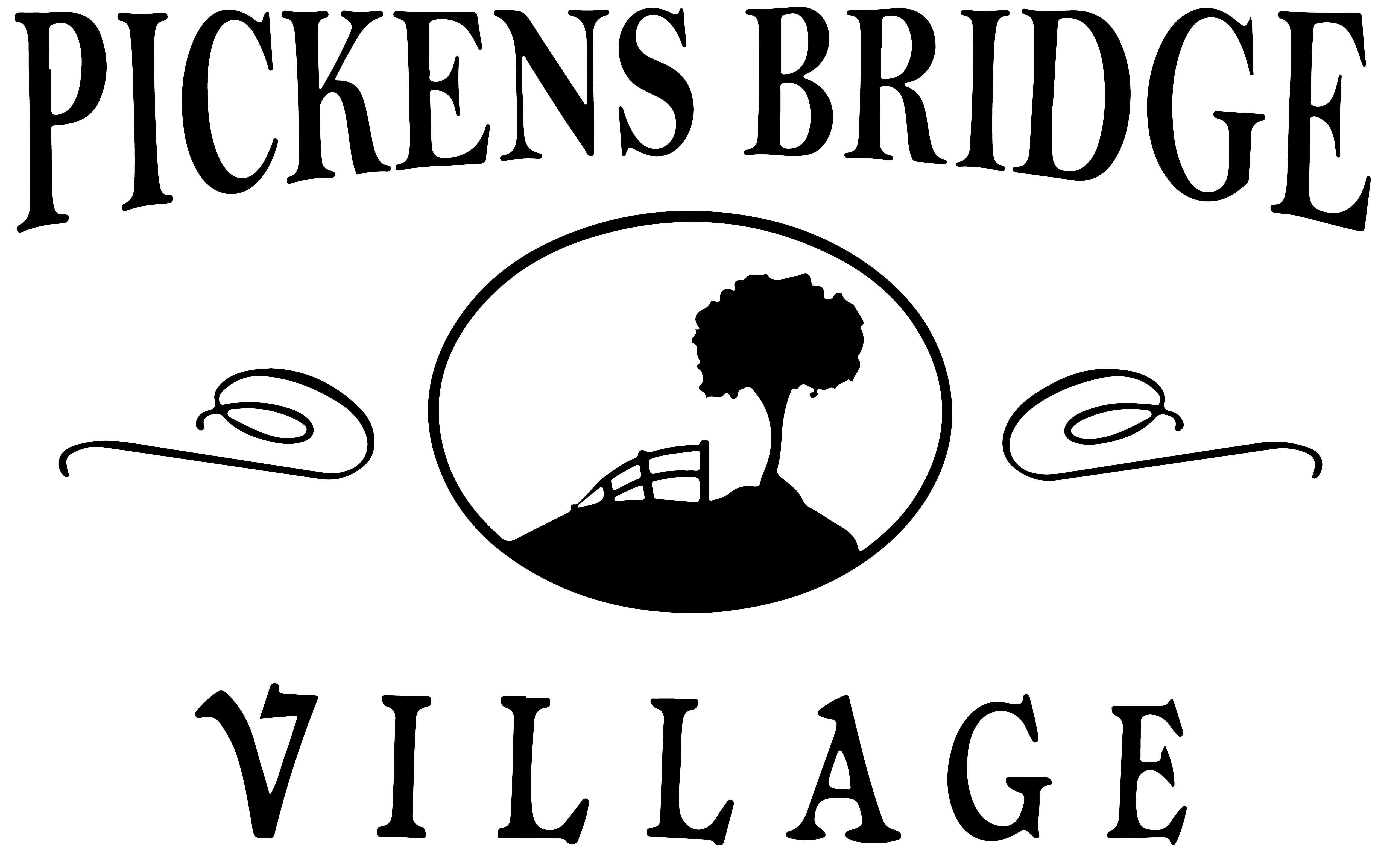 Property Sign For Pickens Bridge Village Apartments Now Leasing