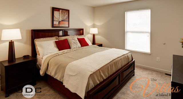 2 Bedroom Master at The Villas at Island Road in Bristol, Tennessee