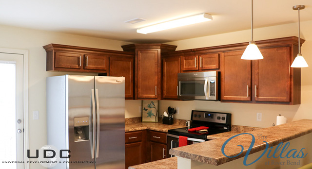 Kitchens with new energy star certified energy efficient stainless steel appliances