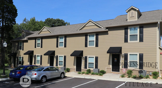 Our 2 bedroom townhome apartments