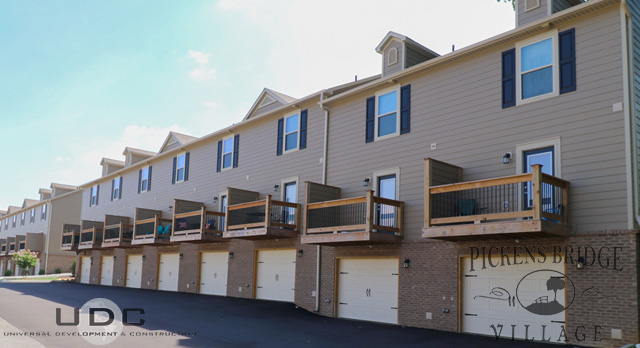 2 bedroom townhomes with drive under garages available