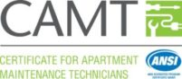 CAMT - Certificate for Apartment Maintenance Technicians Logo