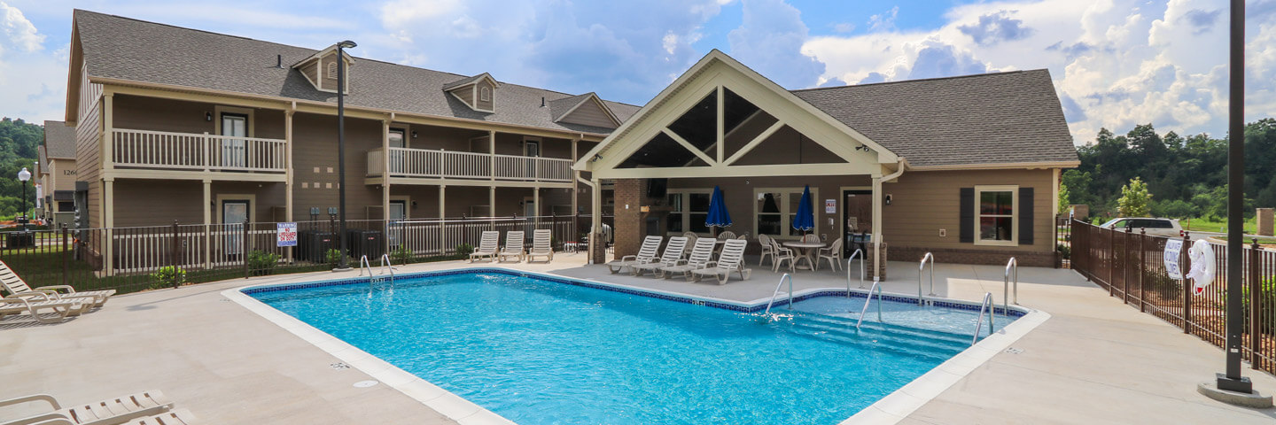 The Villas at River Bend In Kingsport, TN. Apartments Townhomes for Rent