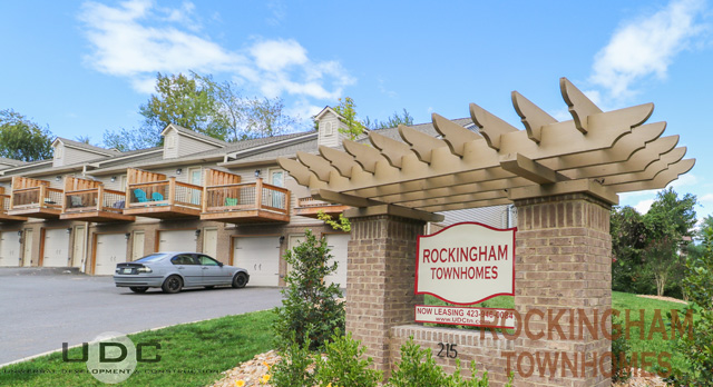 Rockingham 1 bedroom townhomes with garages in Gray, TN