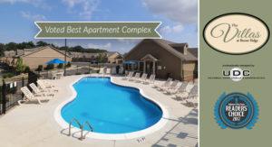 The Villas At Boone Ridge; Johnson City Press Readers Choice 2017 Winner For Best Apartment Complex
