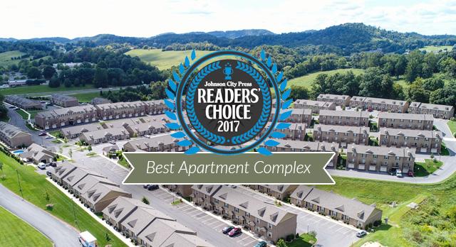 Villas at Boone Ridge Johnson City Apartment Townhome Best Complex Readers Choice Award Winner