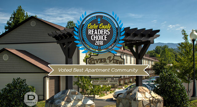 River View Townhomes in Elizabethton, TN Voted best apartment community