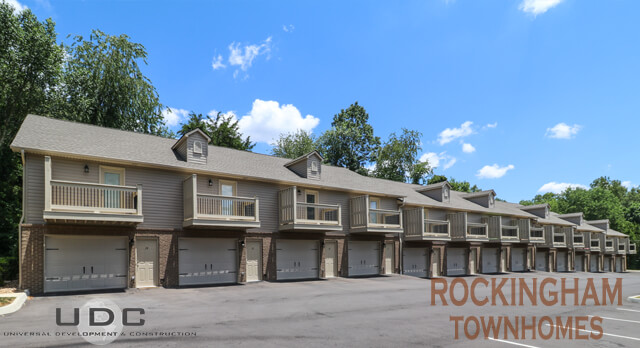 Rockingham townhomes in Gray, TN now renting 1 bedroom units with garages