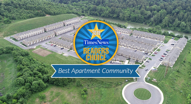 The Villas at River Bend: Voted best apartment community in 2018 readers choice awards