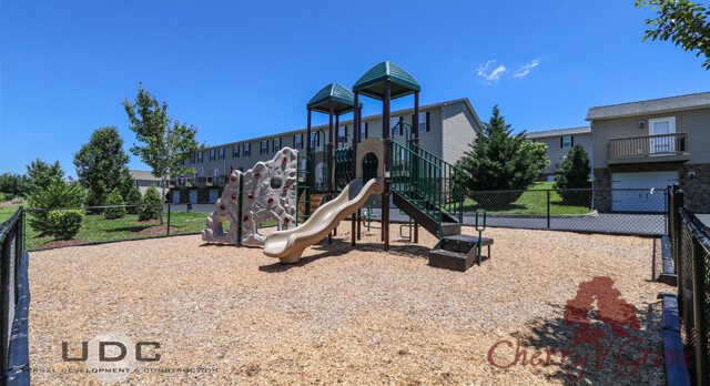 Our childrens playground is the perfect place for kids to safely play.