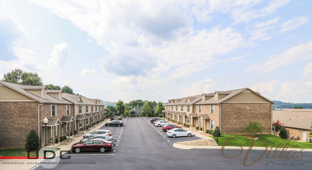 1 and 2 bedroom townhomes in The Villas at Towne Acres now for rent