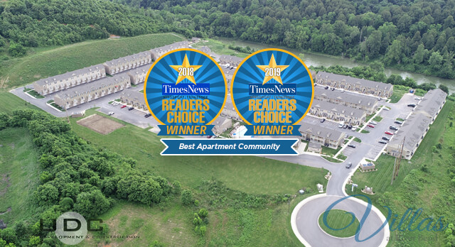 The Villas at River Bend: Voted best apartment community in 2018 and 2019 readers choice awards