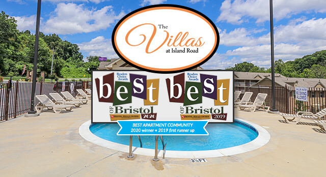 The Villas at Island Road - 2020 Best of Bristol Winner - Best Apartment Community